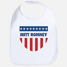 MITT ROMNEY 08 (emblem) Bib