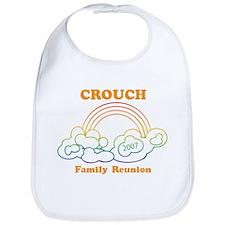 CROUCH reunion (rainbow) Bib