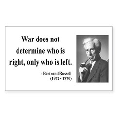 Bertrand Russell 1 Rectangle Decal