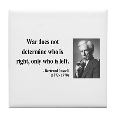 Bertrand Russell 1 Tile Coaster