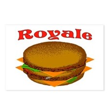 ROYALE Postcards (Package of 8)