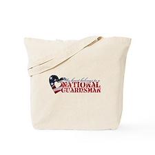 My heart belongs to a Guardsman Tote Bag