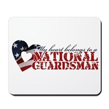 My heart belongs to a Guardsman Mousepad