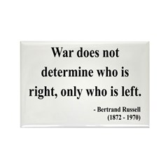 Bertrand Russell 1 Rectangle Magnet (10 pack)