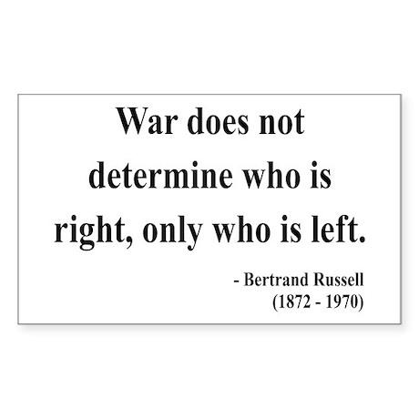 Bertrand Russell 1 Rectangle Sticker