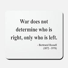 Bertrand Russell 1 Mousepad