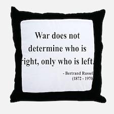 Bertrand Russell 1 Throw Pillow