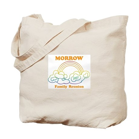 MORROW reunion (rainbow) Tote Bag