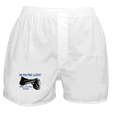 DO YOU FEEL LUCKY? Boxer Shorts
