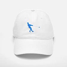 Blue Hammer Throw Silhouette Baseball Baseball Baseball Cap