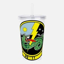 hs11_Dragonslayers.png Acrylic Double-wall Tumbler