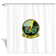 hs11_Dragonslayers.png Shower Curtain