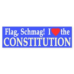 I Heart The Constitution (Bumper Sticker)