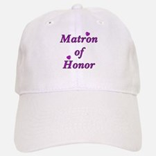 Matron of Honor Simply Love Baseball Baseball Cap