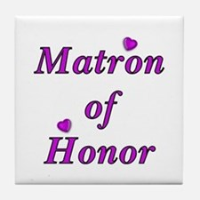 Matron of Honor Simply Love Tile Coaster