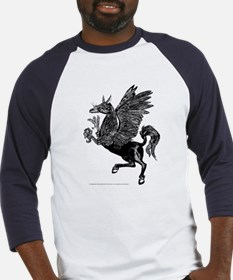 The Hippogryph Black Baseball Jersey