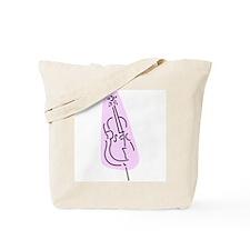 Bass Fiddle Tote Bag (Purple)