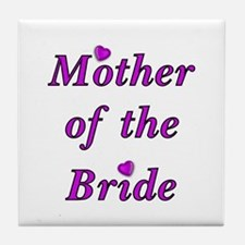 Mother of the Bride Love Tile Coaster