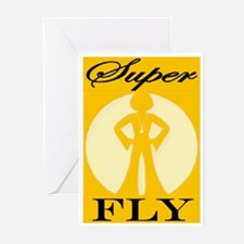 THAT'S SUPER FLY Greeting Cards (Pk of 10)