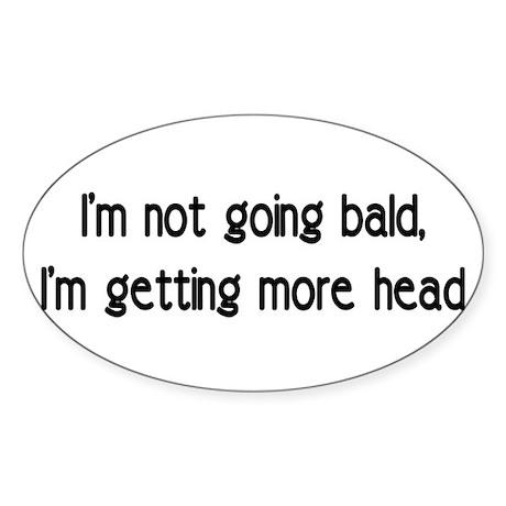 head Oval Sticker