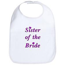 Sister of the Bride Bib