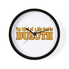 Big Deal in Duluth Wall Clock