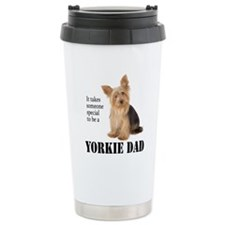 Yorkie Dad Travel Mug