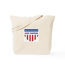 GENE CHAPMAN 08 (emblem) Tote Bag