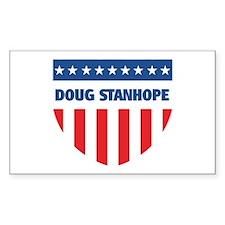 DOUG STANHOPE 08 (emblem) Rectangle Decal