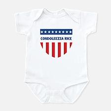 CONDOLEEZZA RICE 08 (emblem) Infant Bodysuit
