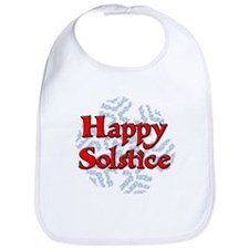 Happy Solstice Bib