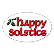 Happy Solstice Decal