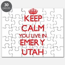 Keep calm you live in Emery Utah Puzzle