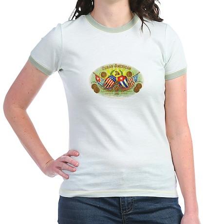 Cuban-American Cigars Jr. Ringer T-Shirt