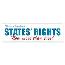 States' Rights Bumper Bumper Sticker