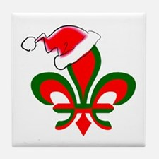 Cool New orleans christmas Tile Coaster