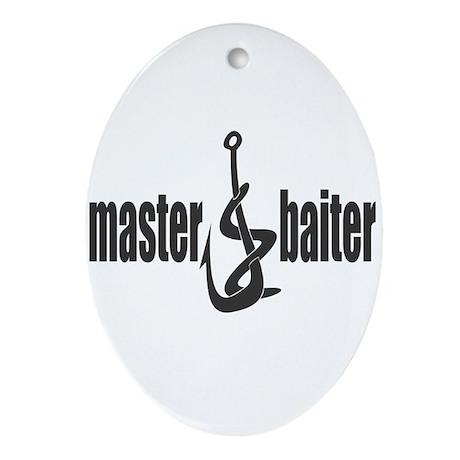 Master Baiter Oval Ornament