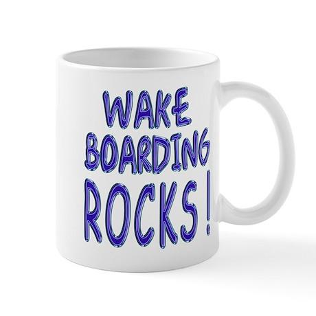 Wake Boarding Rocks ! Mug