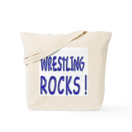 Wrestling Rocks ! Tote Bag