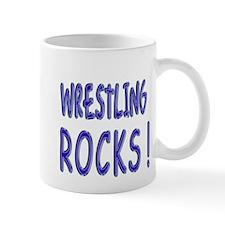 Wrestling Rocks ! Mug
