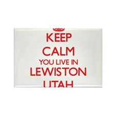 Keep calm you live in Lewiston Utah Magnets