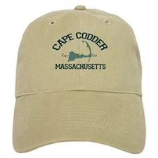 Baseball Cape Cod - Map Design. Baseball Cap