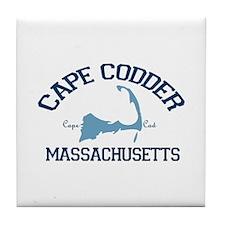 Cape Cod - Map Design. Tile Coaster
