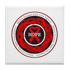 Epidermolysis Hope Tile Coaster