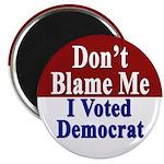 I Voted Democrat Magnet (10 pack)