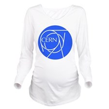 CERN Long Sleeve Maternity T-Shirt