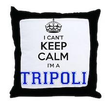 Funny Tripoli Throw Pillow