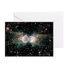 MZ 3 Ant Nebula Astronomy Greeting Cards (6)