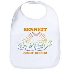 BENNETT reunion (rainbow) Bib