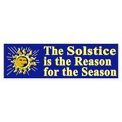 The Reason for the Season (bumper sticker)